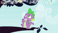 Spike bouncing on tree branch S4E16.png