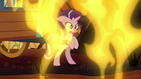 Starlight startled by more fire geysers S8E19