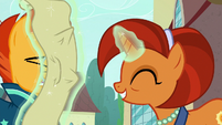 Stellar Flare shoves scroll in Sunburst's face S8E8