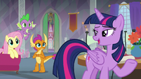 "Twilight ""I was talking to Fluttershy"" S9E9"