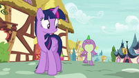 Twilight -I can get us to the castle faster- S5E3
