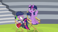 "Twilight Sparkle ""try it a tiny bit louder"" S8E7"