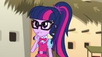 Twilight Sparkle agreeing with Rainbow Dash EGS2