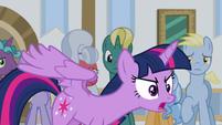 Twilight Sparkle defensive -I am not!- S8E16