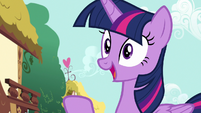 Twilight Sparkle remembering something S7E14
