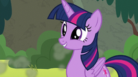 Twilight Sparkle with a cute smile S8E6
