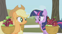 Twilight about to offer AJ the ticket S1E03