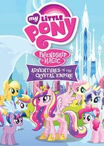 """""""Adventures In The Crystal Empire"""" Region 1 DVD Cover"""