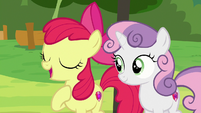 "Apple Bloom ""Cutie Mark Day Camp is all about"" S7E21"
