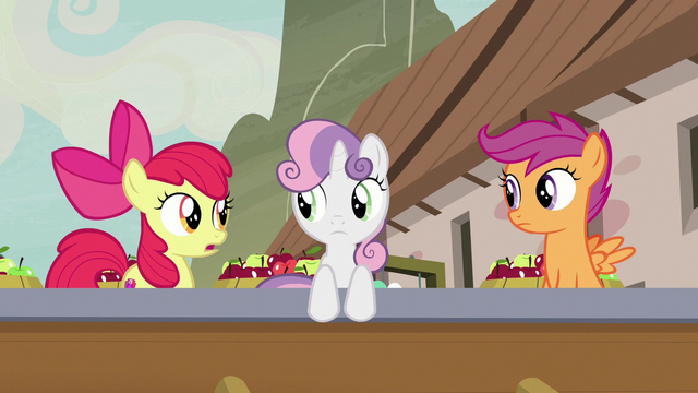 "File:Apple Bloom ""that must be Sugar Belle"" S7E8.png"