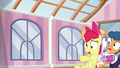 Apple Bloom crashes into another pair of foals S6E4.png