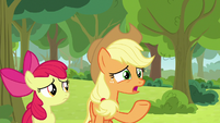 "Applejack ""that doesn't make any sense"" S9E10"