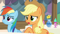 Applejack --I don't suppose that means-- S5E22