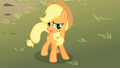 Applejack looking concerned S01E18.png
