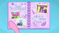 Baby Flurry Heart's Heartfelt Scrapbook page three BFHHS3.png