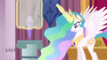 Celestia putting the crystal back into its place S3E01.png