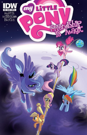 Comic issue 6 cover A