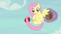 Fluttershy catches the ball yet again S6E18