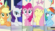 Fluttershy excitedly claps her hooves S9E4