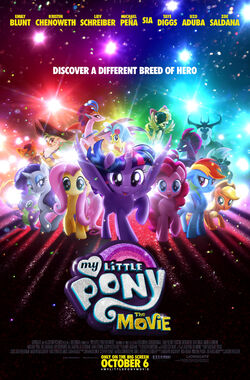 My Little Pony The Movie new poster by Lionsgate