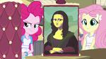 Pinkie Pie's Mona Lisa cake filling EG3