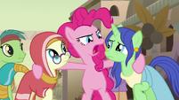 """Pinkie Pie """"he's a baddie!"""" S7E18"""