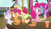 Pinkie Pie 'They're back!' S4E15