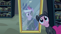 Pinkie Pie and mirror S2E20