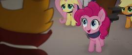 Pinkie Pie impressed by Capper's skills MLPTM