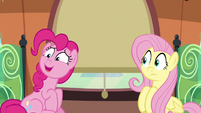 Pinkie sustaining a nervous --great...-- S6E18