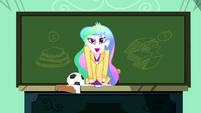 Principal Celestia returns one last time SS8