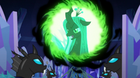 "Queen Chrysalis ""excellent"" S6E25"