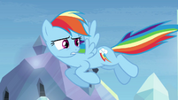 Rainbow Dash -I'll just ignore that- S03E12