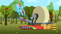 Rainbow Dash oops S2E15