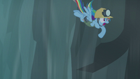 Rainbow gets blown away S5E8