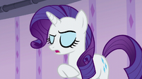 Rarity --it sounds lovely-- S6E10