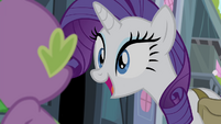 Rarity -Won't that be a fun little secret- S4E23