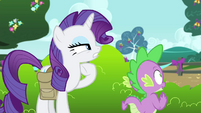 Rarity -seem to have a proper theme- S4E23