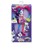 Rarity Equestria Girls Rainbow Rocks neon doll packaging