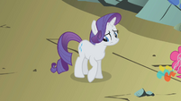 Rarity feeling ashamed S1E07
