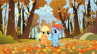 S01E13 Bieg Rainbow i Applejack