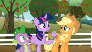 S02E15 Twilight rozmawia z Applejack