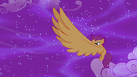 Scootaloo blowing a gust of wind S5E13