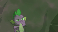 Spike holding his nose S3E9
