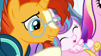 Sunburst besides Flurry Heart S6E2