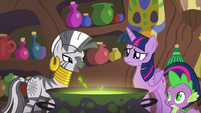 Zecora --in what way can you tell-- S5E22