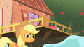 Applejack outside of clubhouse S01E18.png