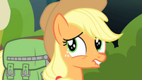 Applejack very worried S4E17