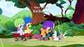 CMC in front of the rabbits S1E23.png