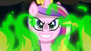 Chrysalis in her Cadance disguise S2E25